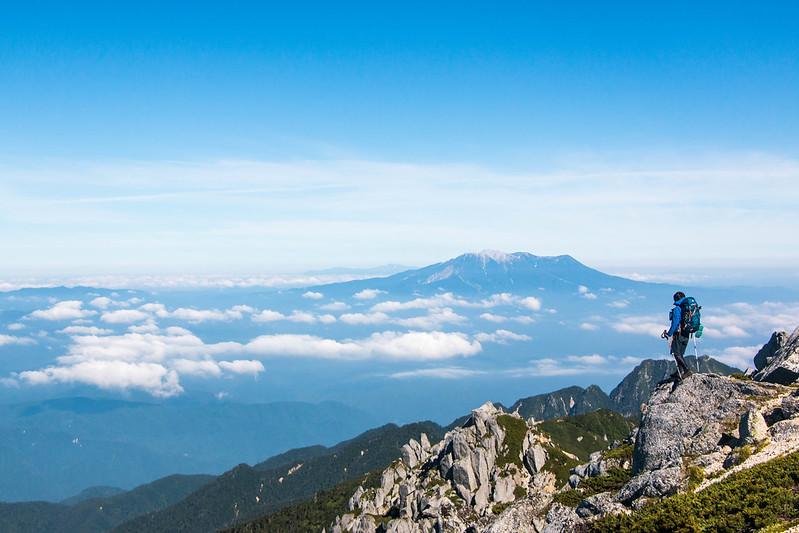 8月の空木岳