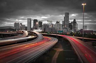 The lifeline of Houston - Houston Downtown