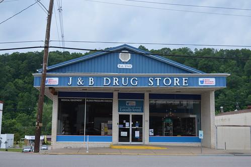 grantsville wv westvirginia jb drug store