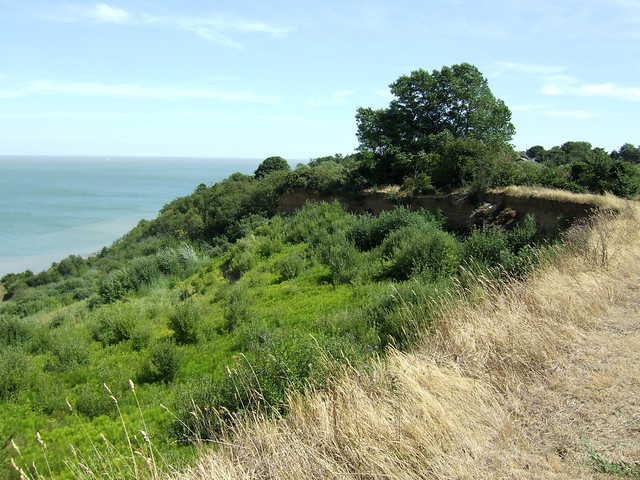 The coast near Minster on the Isle of Sheppey