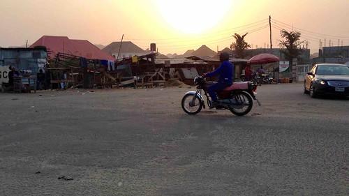 sunriseoverushafavillage abuja nigeria jujufilms motorcycling sccjunctionushafa