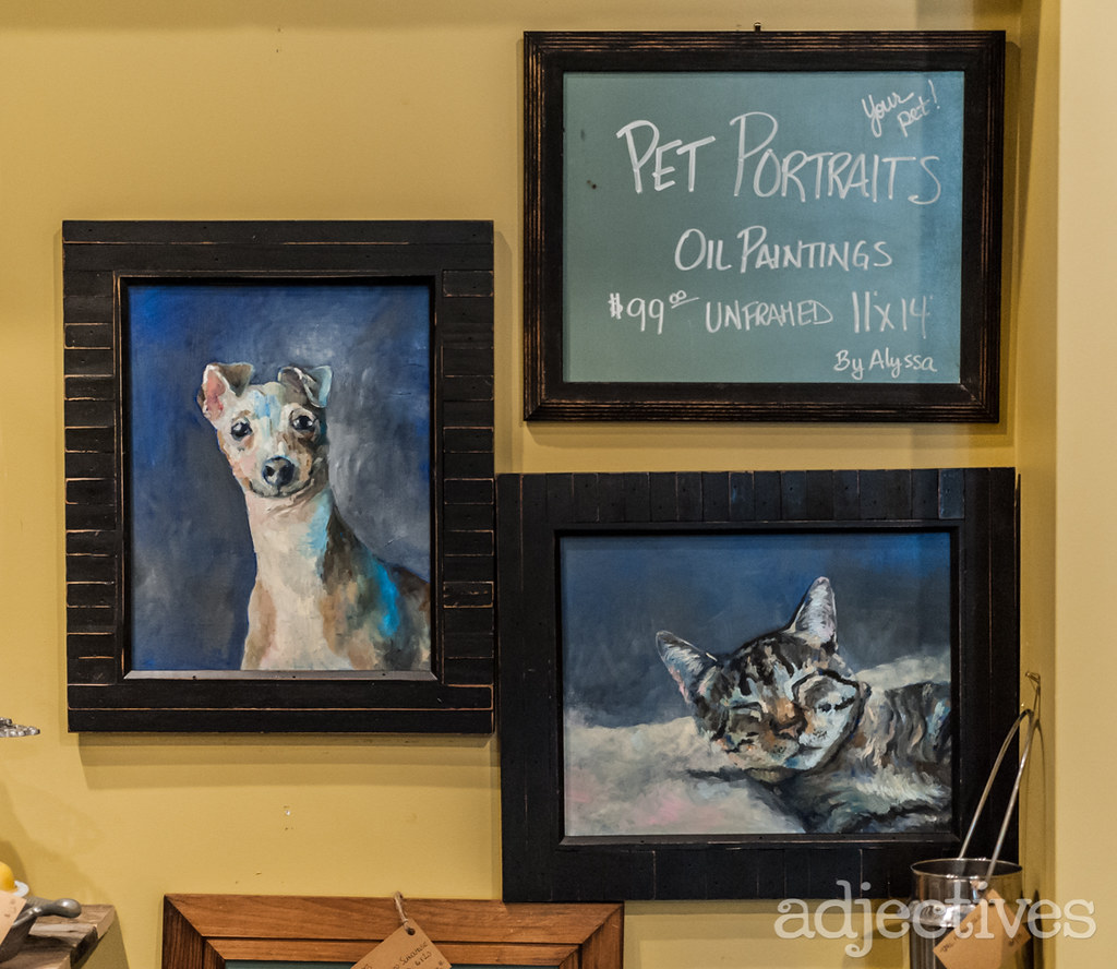 Pet Portraits by Allison at Adjectives Winter Garden