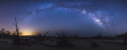 milkyway sunrise landscape seascape explored pans panoramic panorama star nature mood atmosphere energy skyblue longexposure nightsky night dawn photo galaxy