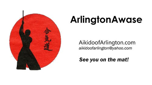 #arlingtonawaseVideo Aikido of Arlington http://youtube.com/user/ArlingtonAwase
