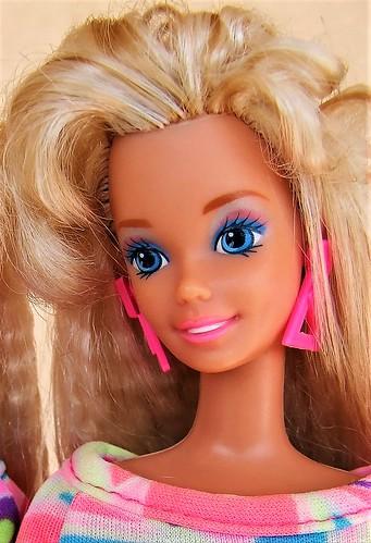 Totally Hair Barbie glamorous bangs   by Dollytopia