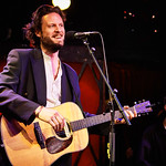 Mon, 08/05/2017 - 5:23pm - Father John Misty performs for WFUV members at Rockwood Music Hall in New York City, May 8, 2017. Hosted by Carmel Holt. Photo by Gus Philippas