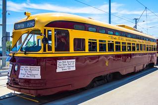 The PPC Streetcar @ Leslie Barn Doors Open Toronto 2016