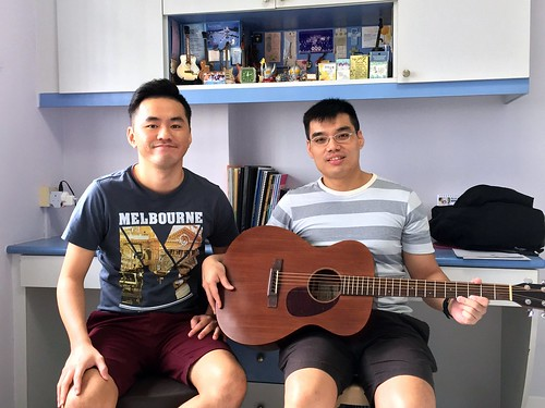 Beginner guitar lessons Singapore Hung Chiu