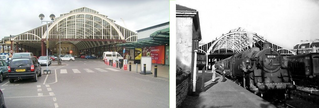 Bath Green Park then and now