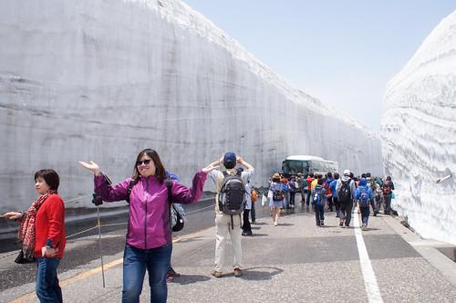 雪の大谷の旅