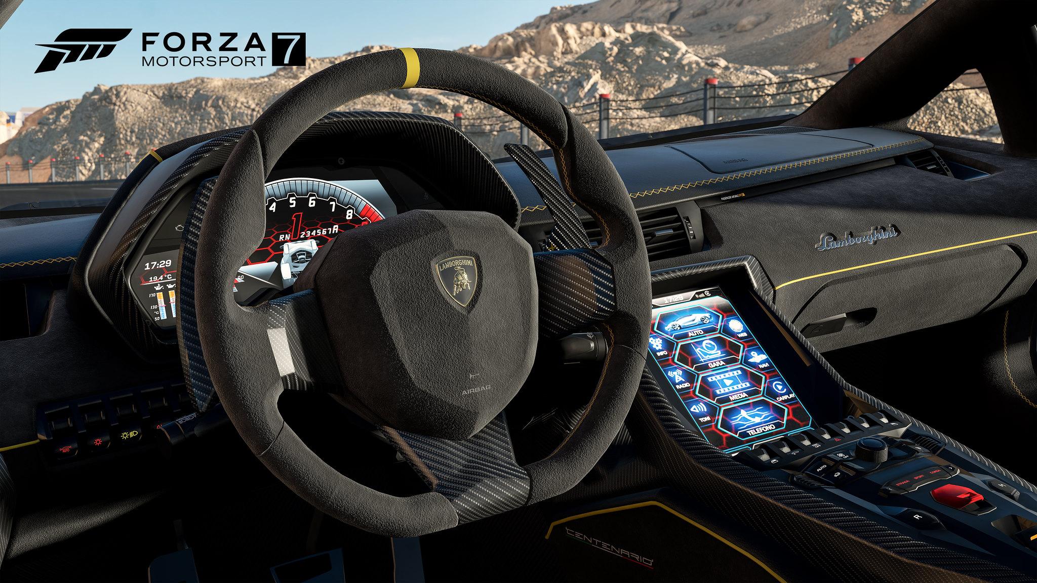 Forza7_E3_PressKit_06_LamborghiniCockpit_WM_4K