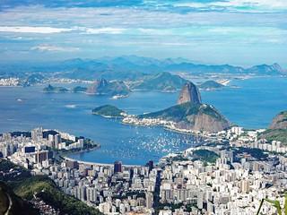 Rio de Janeiro   Corcovado   Sugarloaf   Zuckerhut   South America   Südamerika   by flashpacker-travelguide.de