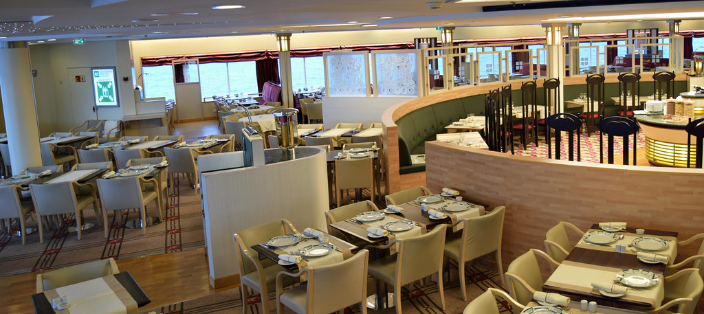 Brittany Ferries Pont Aven Imo 9268708 Le Flora Restau