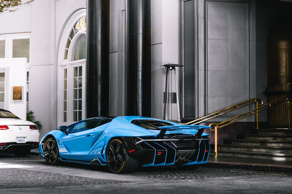 Blue Cepheus Lamborghini Centenario Car Spot Flickr