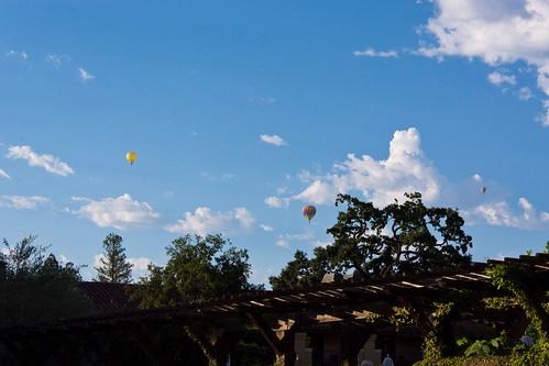 yountville napa sunrise balloons