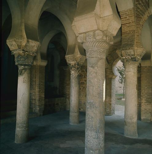Mezquita del Cristo de la Luz en Toledo en los años 50. Fotografía de Nicolás Muller  © Archivo Regional de la Comunidad de Madrid, fondo fotográfico