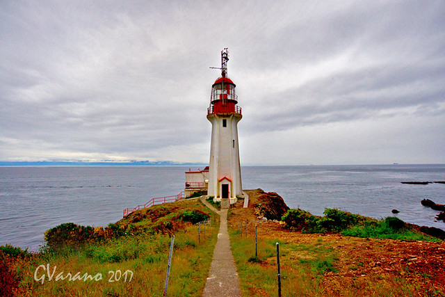 Sheringham Point Lighthouse Sherliy BC