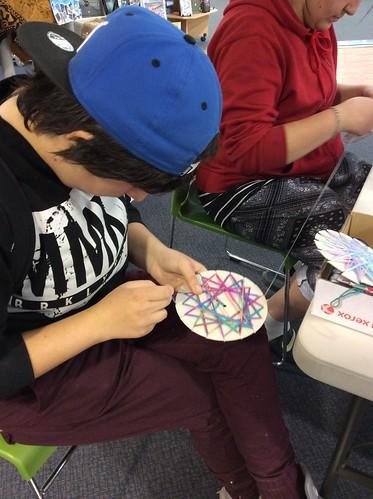 Matariki Toi - Community Art Project in the Library