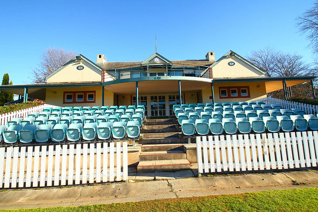 Pavilion at the Bradman Oval, Bowral