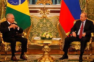21/06/2017 - Vladimir Putin Presidente da Federação da Rússia | by Michel Temer - Fotos livres, com o crédito.