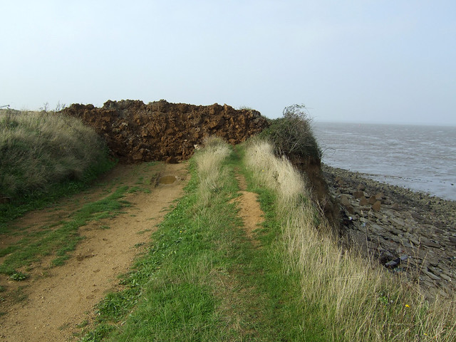 End of the footpath