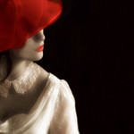 Ivory and Red