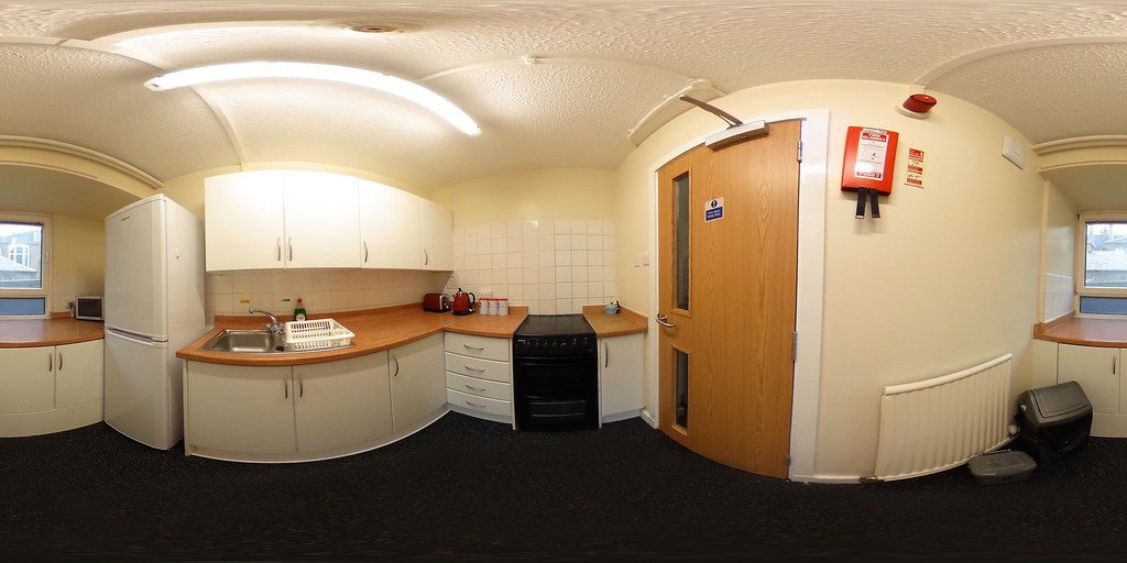 Lister House Kitchen 1-bed Flat