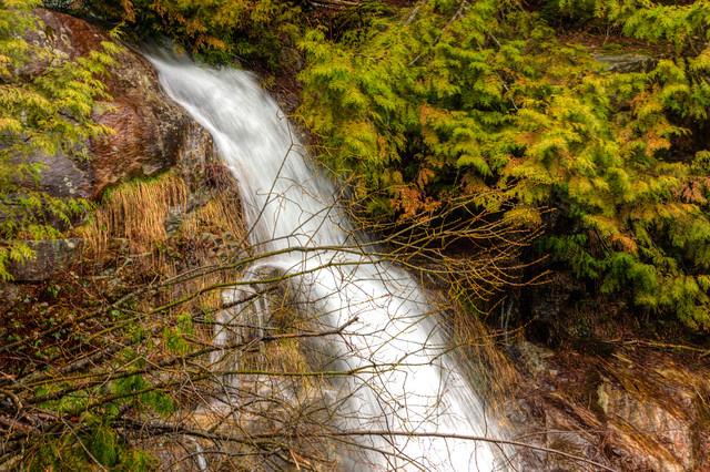 Roadside Waterfall, Cypress Provincial Park