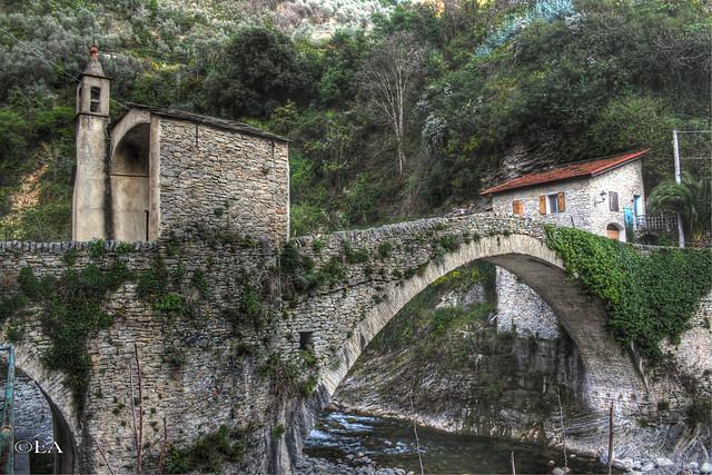 Il ponte di Badalucco.