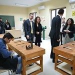 Inauguration of the renovated workshop at the Deaf Students' Institute in Tirana
