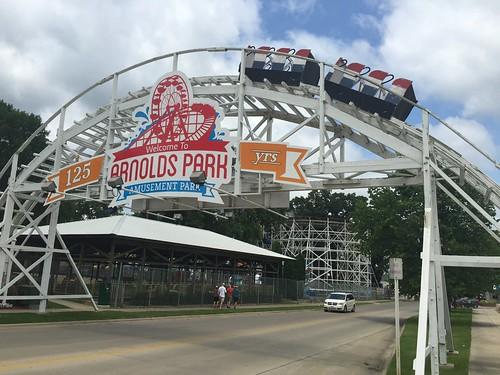 Arnolds Park Amusement Park, Iowa   by milst1