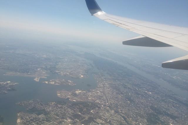 木, 2015-07-16 13:43 - NYC 上空より