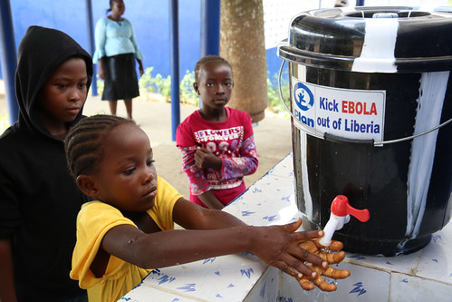 Students wash their hands | by World Bank Photo Collection