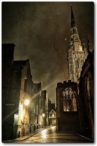 coventry texture phototoaster mextures snapseed kitcam iphoneography iphone iphone365 nightphotography cathedralquarter historicbuildings coventrycathedralruins buildings building listedbuildings serene architecture photoborder