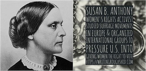 SUSAN B. ANTHONY #100travelHERS | by sandrakaybee