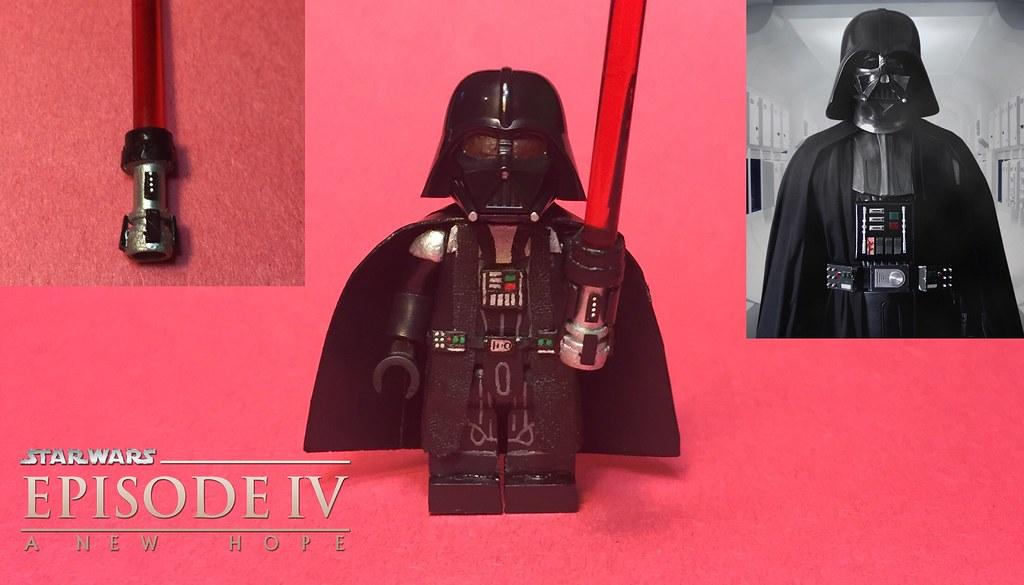 Darth Vader from Star Wars: A New Hope