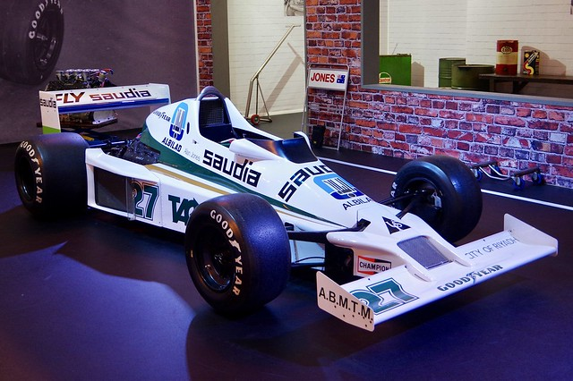 Alan Jones's 1980 World Championship Winning Car - Williams FW07 Cosworth