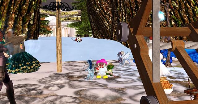 Avilion - Snow in the tree!