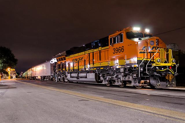 BNSF OCS at San Antonio