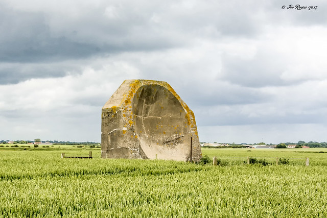 Sound Mirror.  Holderness, East Riding of Yorkshire.