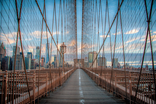 On the Brooklyn Bridge | by ShutterRunner