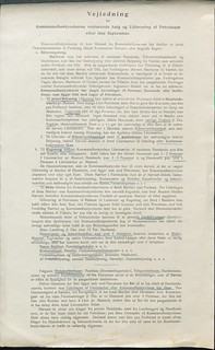 Salg og udlevering af petroleum, vejledning til kommunalbestyrelserne 1917