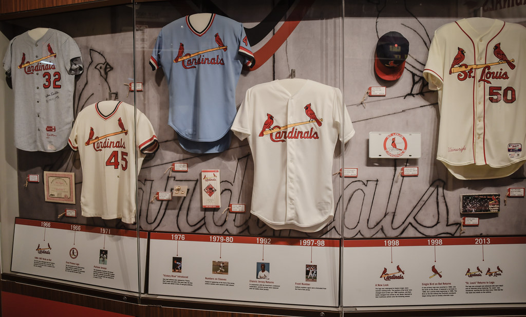 pretty nice 712be 6f297 ... Cardinals Uniform History - St Louis Cardinals Museum - St. Louis MO    by mbell1975