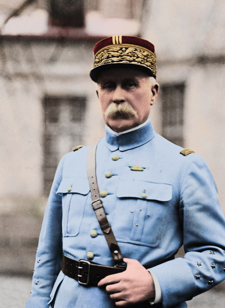 Philippe Pétain | Here's a photo of Philippe Pétain I colour… | Flickr