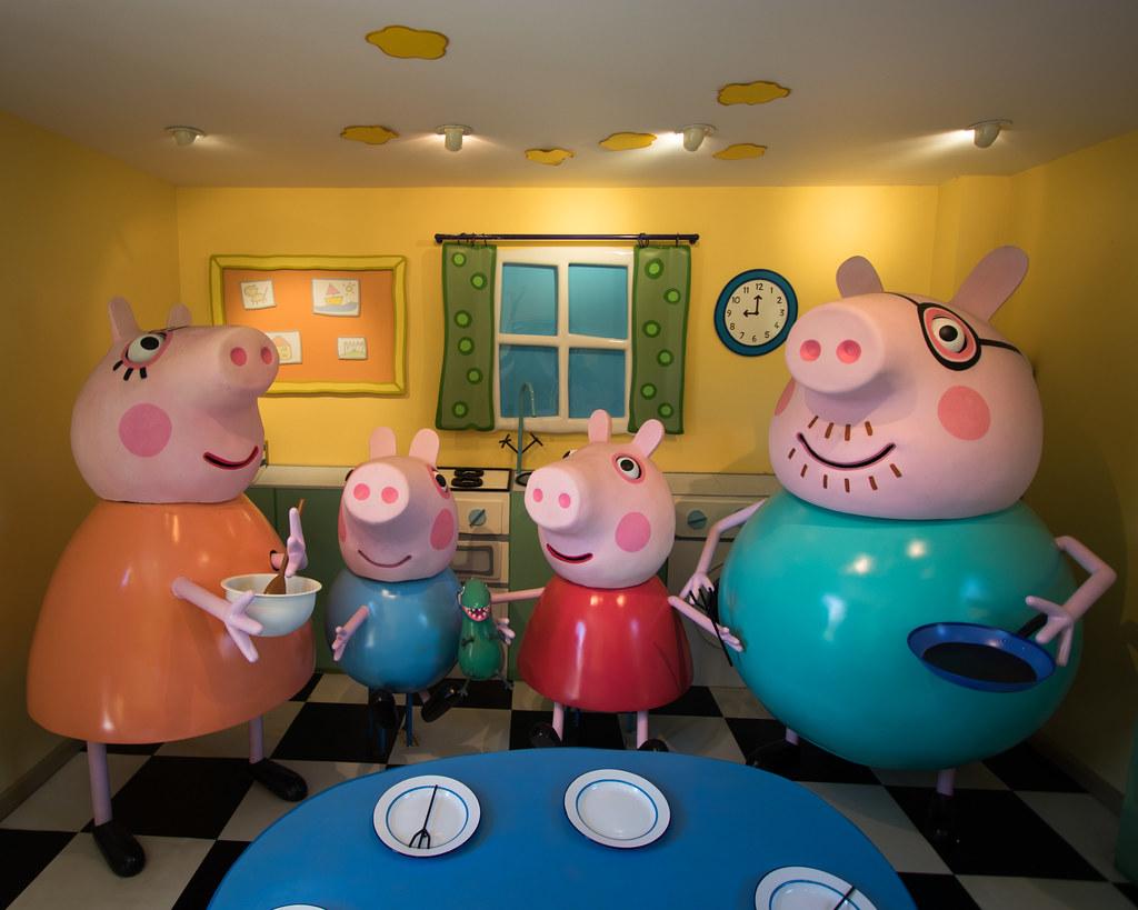 Inside Peppa Pig S House At Peppa Pig World Sheep R Us Flickr