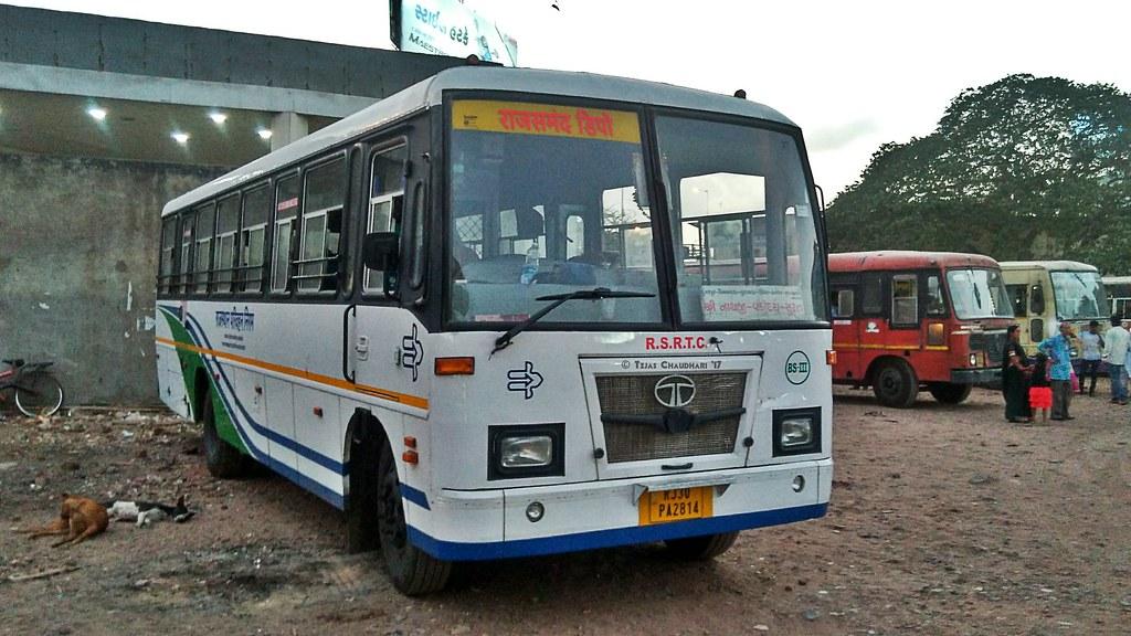 RSRTC bus Surat - Nathdwara | tejas chaudhari | Flickr