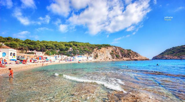 (348/17) Playa del Portixol (Jávea)