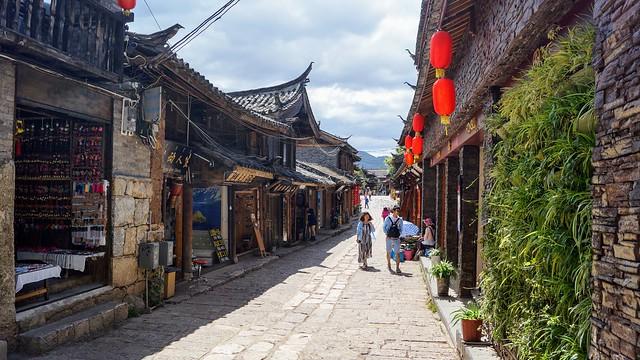 束河古鎮 shuhe old town of yunnan in china