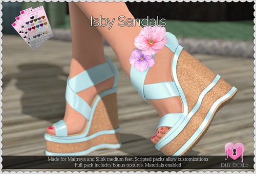 Isby Sandals | by Oriana Kuhr