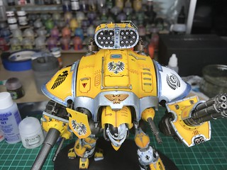 Imperial Knight WIP post transfer | by christhack